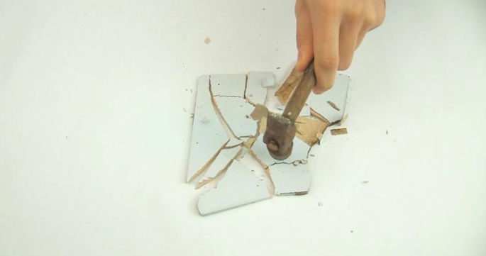 A New Use For Used (And Broken) Tile_